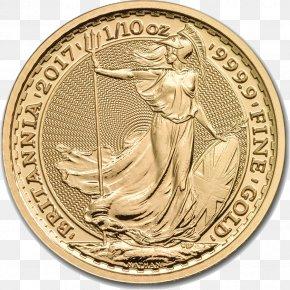 Gold Coins - Royal Mint Britannia Gold As An Investment Bullion Coin PNG