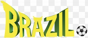 Brazil Soccer Clip Art Image - Brazil National Football Team 2014 FIFA World Cup Ball Game PNG