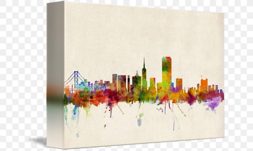San Francisco Canvas Print Gallery Wrap Art, PNG, 650x489px, San Francisco, Allposterscom, Art, Art Museum, Artcom Download Free