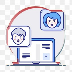 Text Icon Message Icon - Chat Icon Conversation Icon Laptop Icon PNG