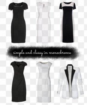 Dress - Little Black Dress Gown Shoulder PNG
