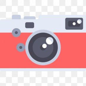 Red Digital Camera - Camera PNG