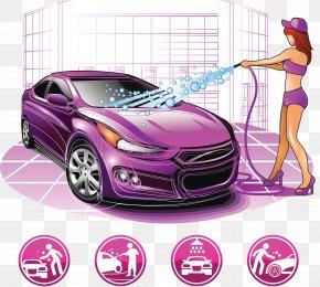 Professional Car Wash Room - Car Wash Washing Icon PNG