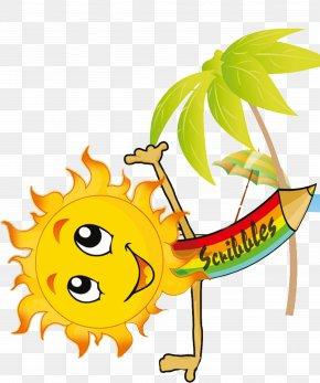 Summer Time Cartoon Download - Clip Art Pre-school PNG