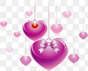 Beautiful Heart - Heart Love Valentine's Day Animation PNG