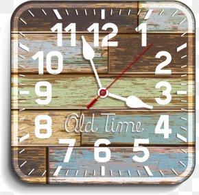 Clock - Clock Wood Illustration PNG