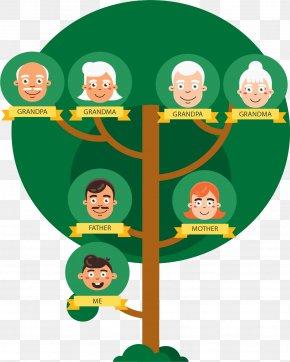 Dark Green Family Tree - Family Tree PNG