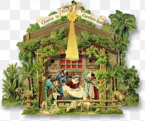 Christmas - Nativity Scene Christmas Card Nativity Of Jesus Bokmärke PNG