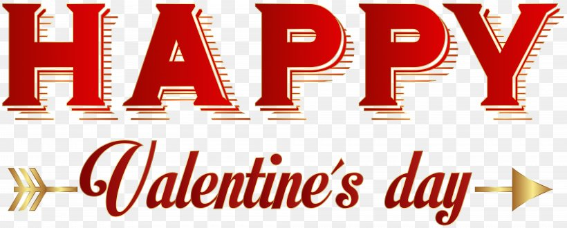 Valentine's Day Clip Art, PNG, 8000x3228px, Valentine S Day, Advertising, Banner, Birthday, Brand Download Free