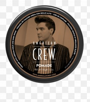 Hair - American Crew POMADE Hair Styling Products Hairstyle Hair Gel PNG