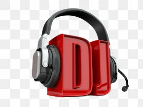 HD DJ Stereo Headphones - Disc Jockey 3D Computer Graphics Stock Photography Stock Illustration PNG