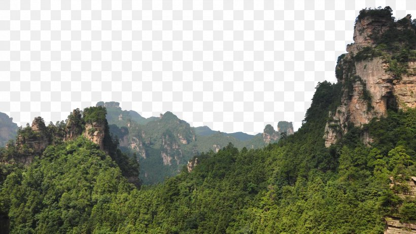Zhangjiajie National Forest Park U5929u5b50u5c71u98a8u666fu533a Suoxiyu U067eu0627u0631u06a9 U062cu0646u06afu0644u06cc Wuling Mountains Png 1920x1080px Zhangjiajie National Forest Park A mountain is a large landform that stretches above the surrounding land in a limited area, usually in the form of a peak. zhangjiajie national forest park