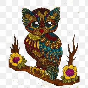 Fairy Owl Illustration - Art Download Illustration PNG