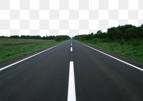 Forest Road Material - Car Controlled-access Highway Road Surface Asphalt Lane PNG
