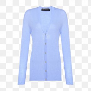 Button-wool V-neck Sweater Female - Cardigan Neck Sleeve PNG