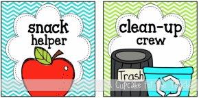 Classroom Job Clipart - Classroom Snack Teacher Clip Art PNG