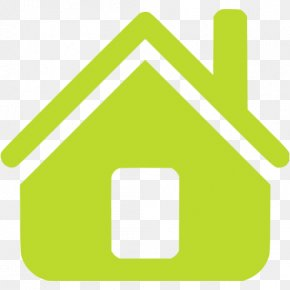 House - House Icon Design Green Home Clip Art PNG