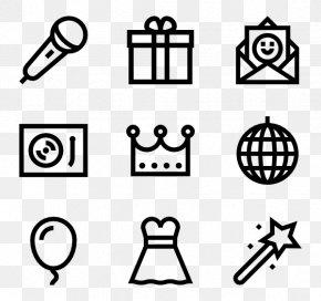 Party Elements - Icon Design Smiley Clip Art PNG