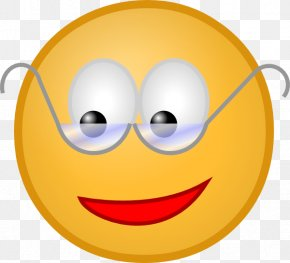 Animated Laughing Smiley - Smiley Glasses Emoticon Clip Art PNG