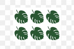 Sorbet - Tropics Leaf Palm Branch Party Place Cards PNG