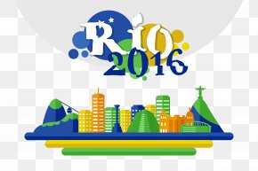 Rio 2016 Olympic Games Vector Elements - 2016 Summer Olympics Rio De Janeiro Icon PNG