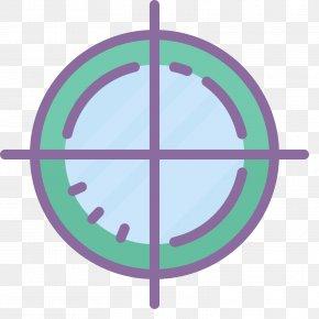 Crosshair - Symbol PNG
