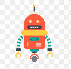 Orange Robot - Robot Wall Robots Exclusion Standard Icon PNG