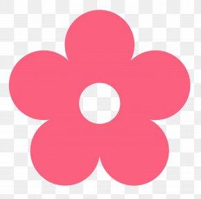 Cute Peace Cliparts - Blue Flower Clip Art PNG