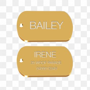 Military Dog Tag - Brand Product Design Logo Font PNG