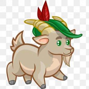 Boer Goat Cartoon Clip Art PNG