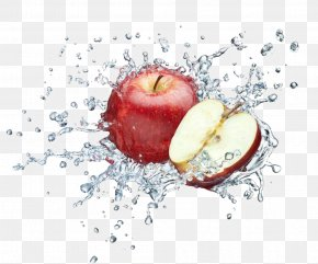 Wash The Apple - Juice Apple Water Food Stock Photography PNG