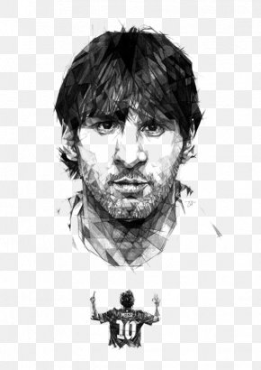 Football Players - Lionel Messi FC Barcelona Argentina National Football Team UEFA Champions League Drawing PNG