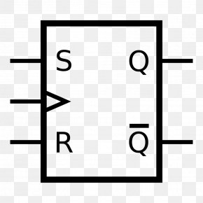Tin Symbol - Flip-flop Electronic Circuit Circuito Sequencial Logic Gate Electronics PNG