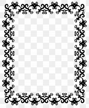 How To Draw Border Designs - Borders And Frames Clip Art Image The Red Shoes Vector Graphics PNG