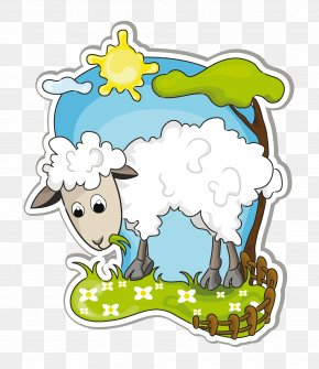 Sheep - Goat Sheep Drawing PNG