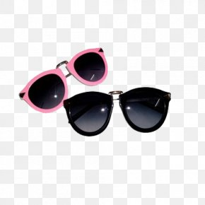 Fashionable Men And Women Glasses - Goggles Sunglasses Fashion PNG