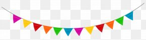 Party Streamer Clipart Image - Party Birthday Clip Art PNG