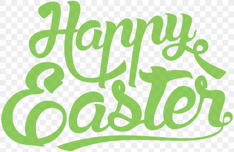 Easter Text Clip Art, PNG, 8000x5204px, Easter Bunny, Area, Brand, Christianity, Christmas Download Free