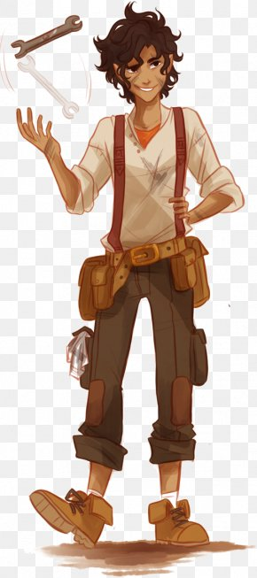 Samuel L Jackson - Percy Jackson Annabeth Chase Leo Valdez Hephaestus The Heroes Of Olympus PNG