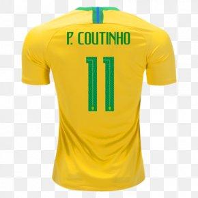 T-shirt - Brazil National Football Team 2014 FIFA World Cup 2018 World Cup T-shirt PNG