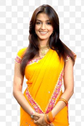Actor - Aarti Chabria Navel Sari Actor Bollywood PNG