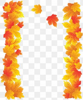Withered Autumn Leaves - Autumn Leaf Clip Art PNG