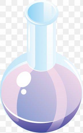 Glass Bottle Material Vector - Laboratory Flasks Glass Bottle Glass Bottle Euclidean Vector PNG