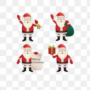 Three-dimensional Christmas Santa Claus - Santa Claus Christmas Ornament Euclidean Vector Illustration PNG