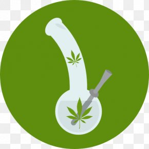 Pot Leaf - Tobacco Pipe Cannabis Bong PNG