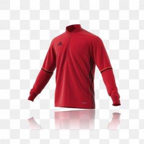 T-shirt - T-shirt Adidas Red Football Boot Jacket PNG