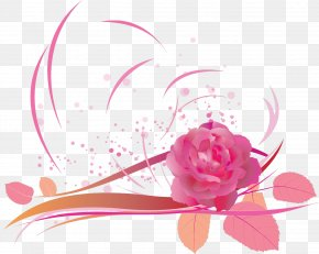 Flower Background - Mother Being Meaning Son Family PNG