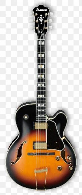 Electric Guitar - Electric Guitar Gretsch Ibanez Semi-acoustic Guitar Archtop Guitar PNG