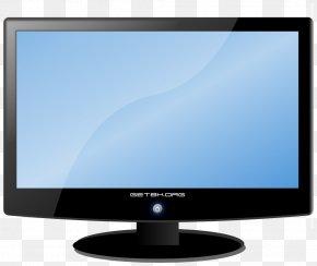 LCD Display Monitor Image - Computer Monitor Liquid-crystal Display Flat Panel Display Clip Art PNG