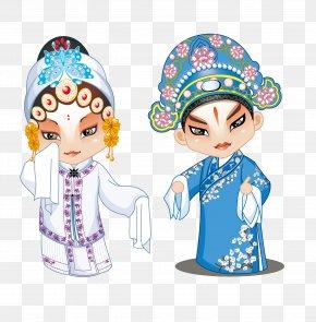 Peking Opera - Peking Opera Cartoon Chinese Opera PNG